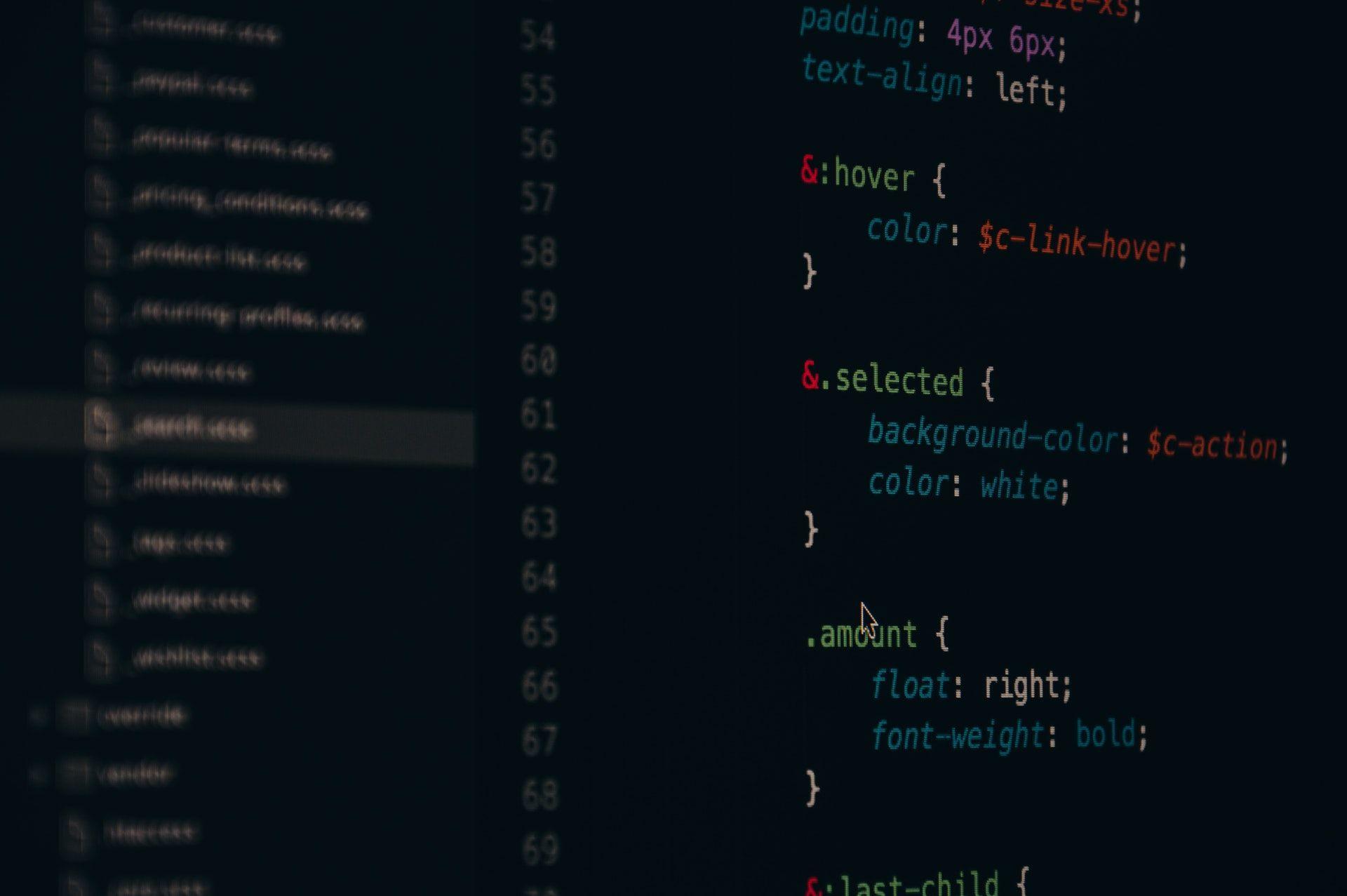 عکس زمینه کد های برنامه نویسی پس زمینه