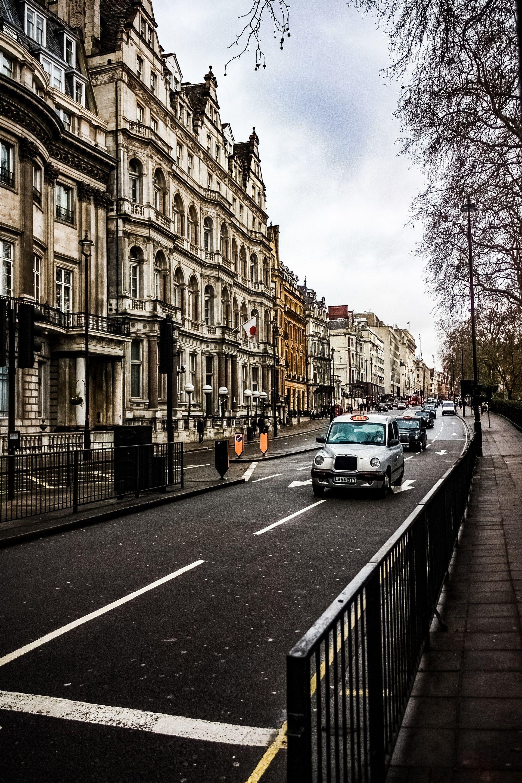 عکس زمینه نمای شهری لندن پس زمینه