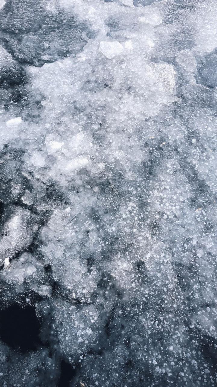 عکس زمینه رودخانه یخ زده پس زمینه