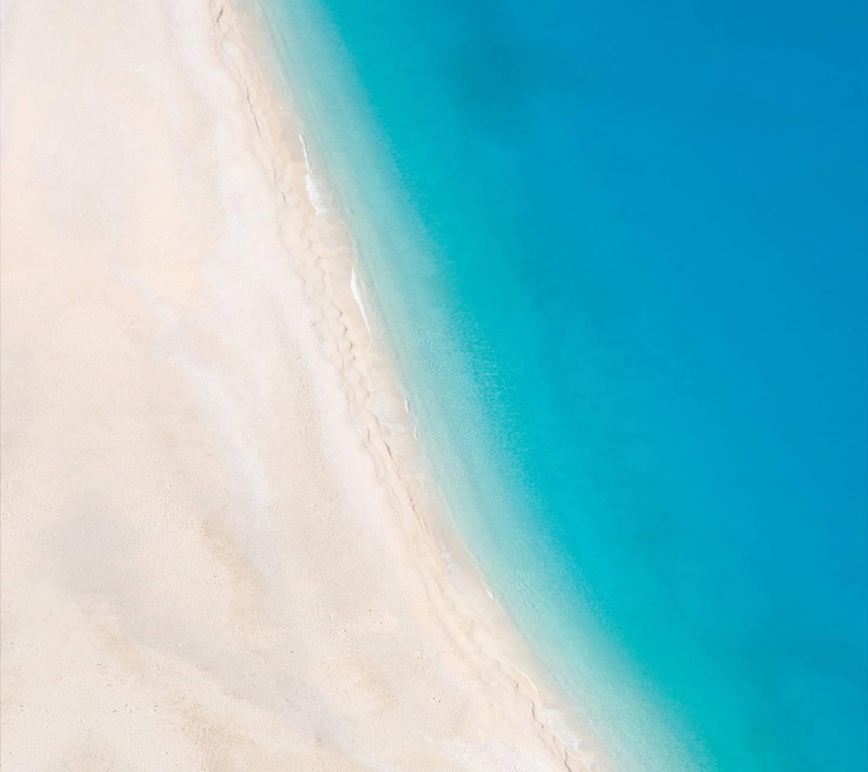 عکس زمینه LG ساحل دریا پس زمینه