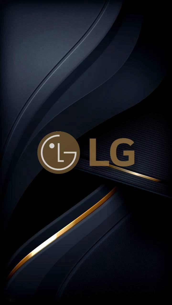 عکس زمینه LG گلد پس زمینه
