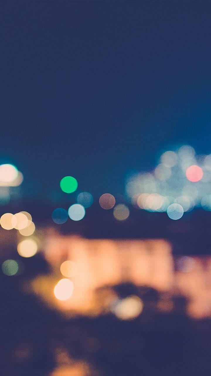 عکس زمینه نور شب محو blur پس زمینه
