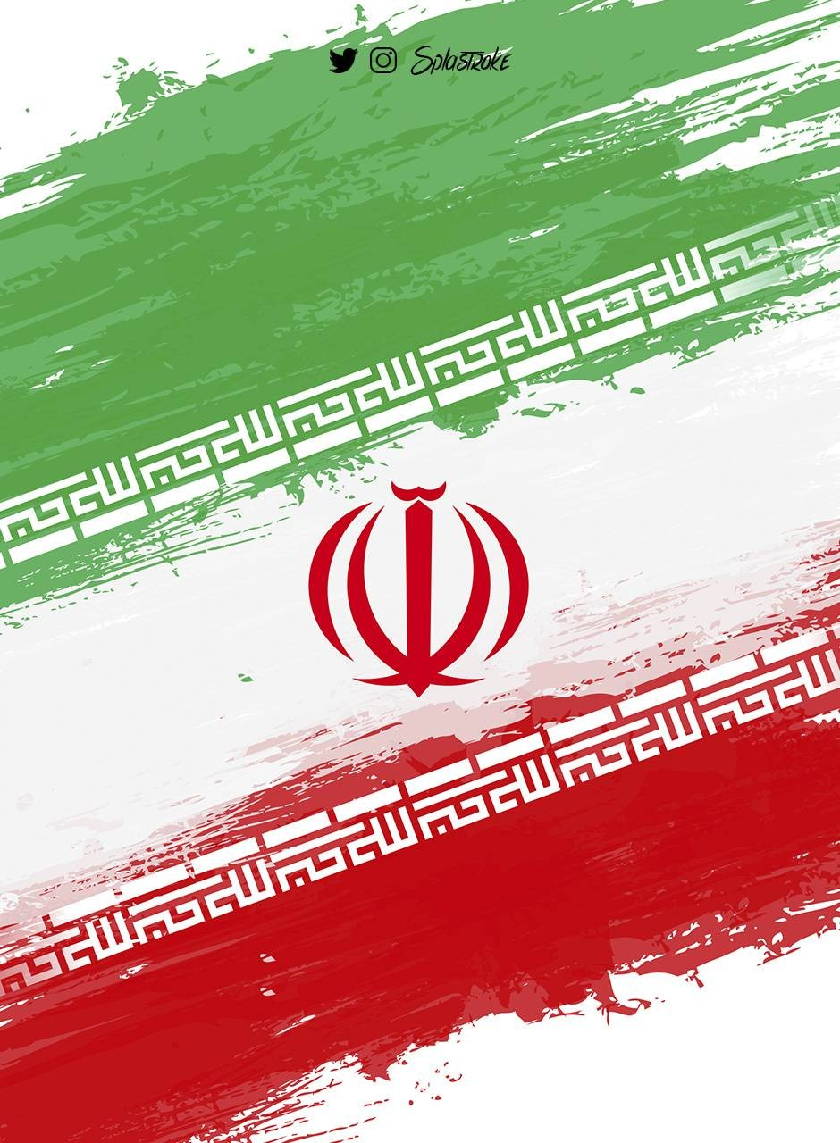 عکس زمینه طراحی پرچم ایران پس زمینه