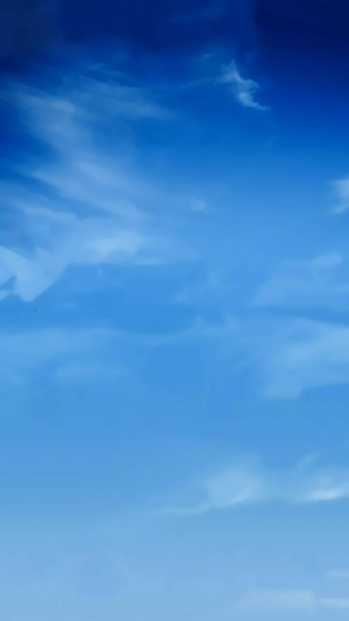 عکس زمینه آسمان آبی ساده زیبا پس زمینه