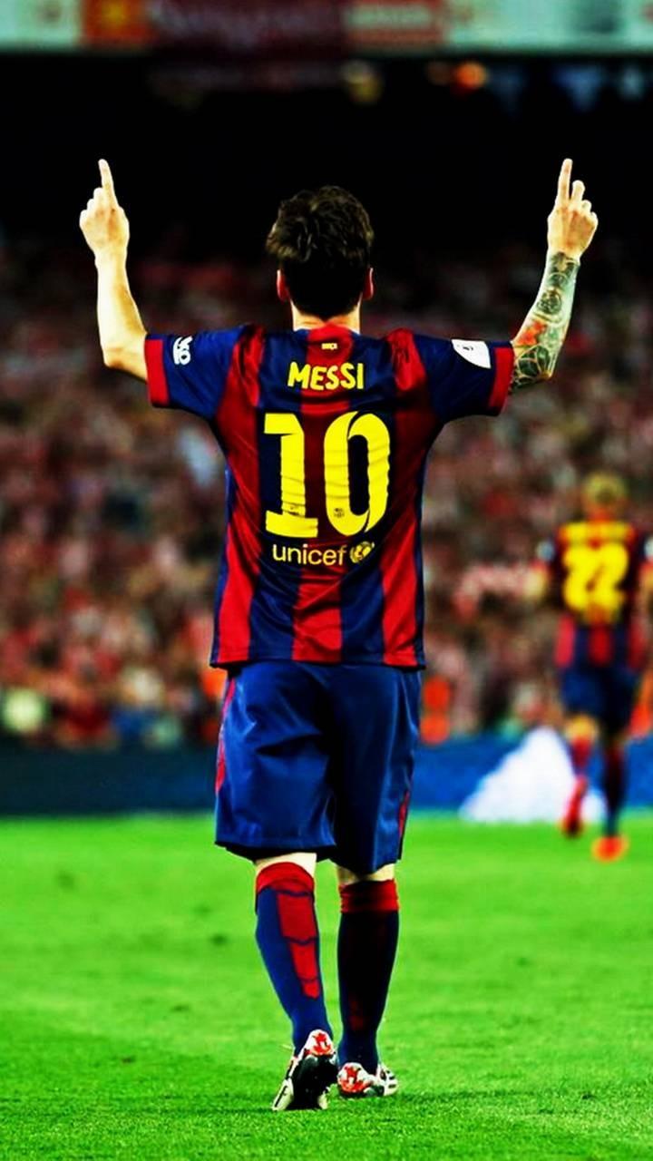 عکس زمینه لیونل مسی 10بارسلونا پس زمینه