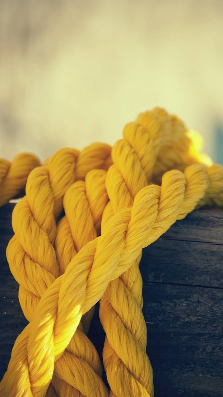 عکس زمینه طناب زرد پس زمینه