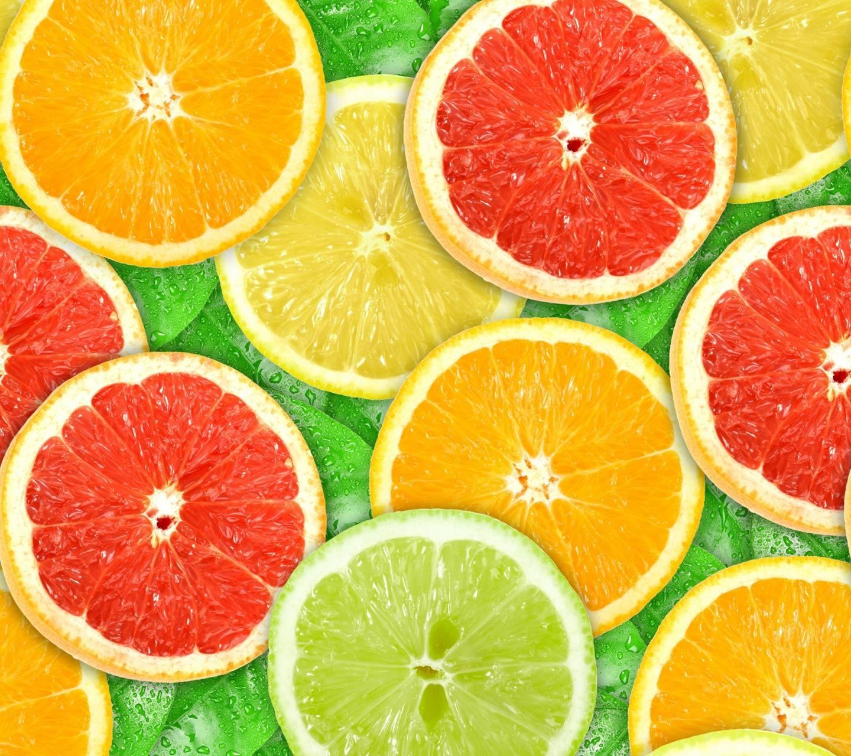 عکس زمینه پرتقال های رنگی پس زمینه