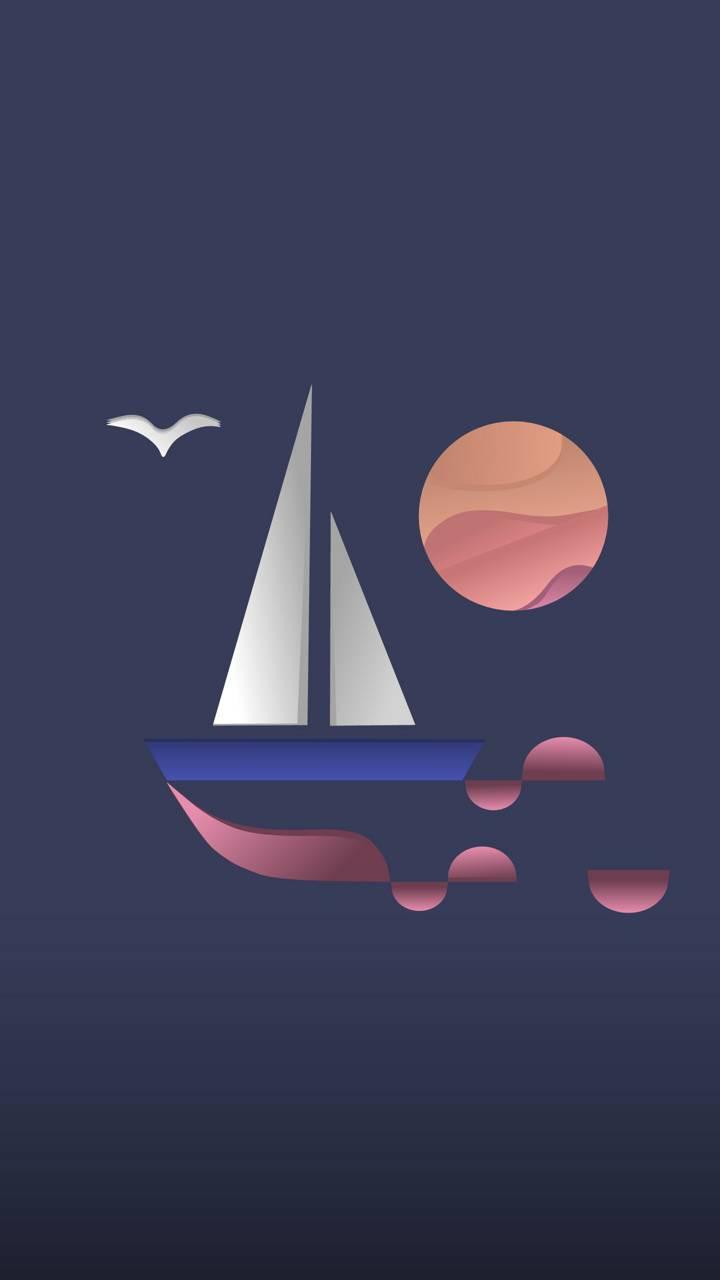 عکس زمینه دریانوردی دور پس زمینه