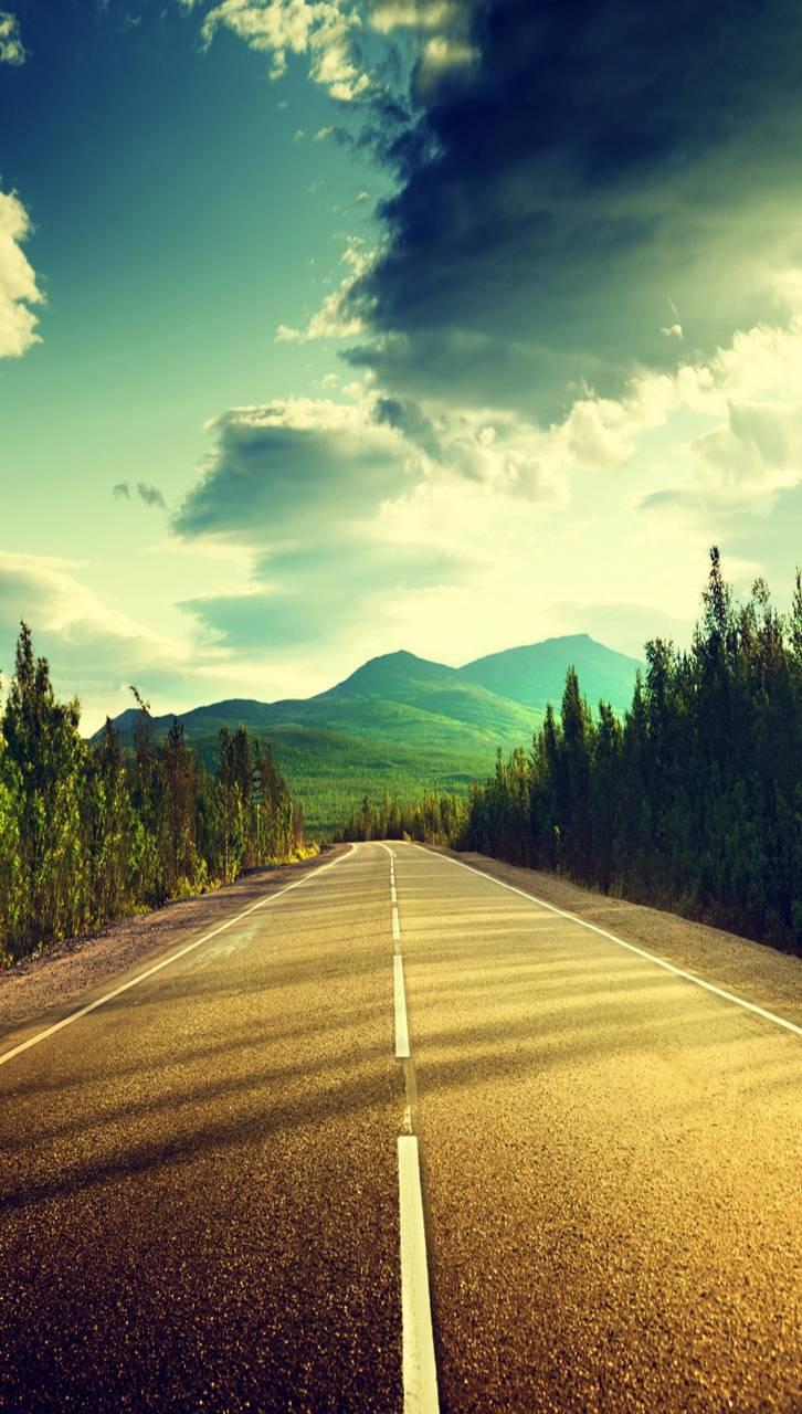 عکس زمینه مسیر جاده صاف پس زمینه
