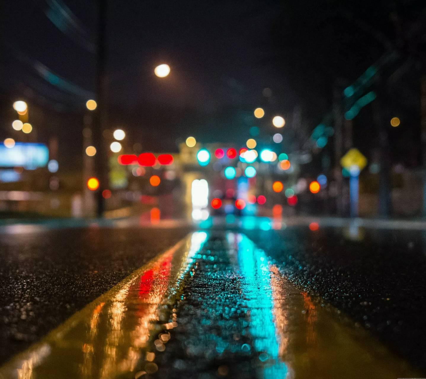 عکس زمینه شب چراغ HD پس زمینه
