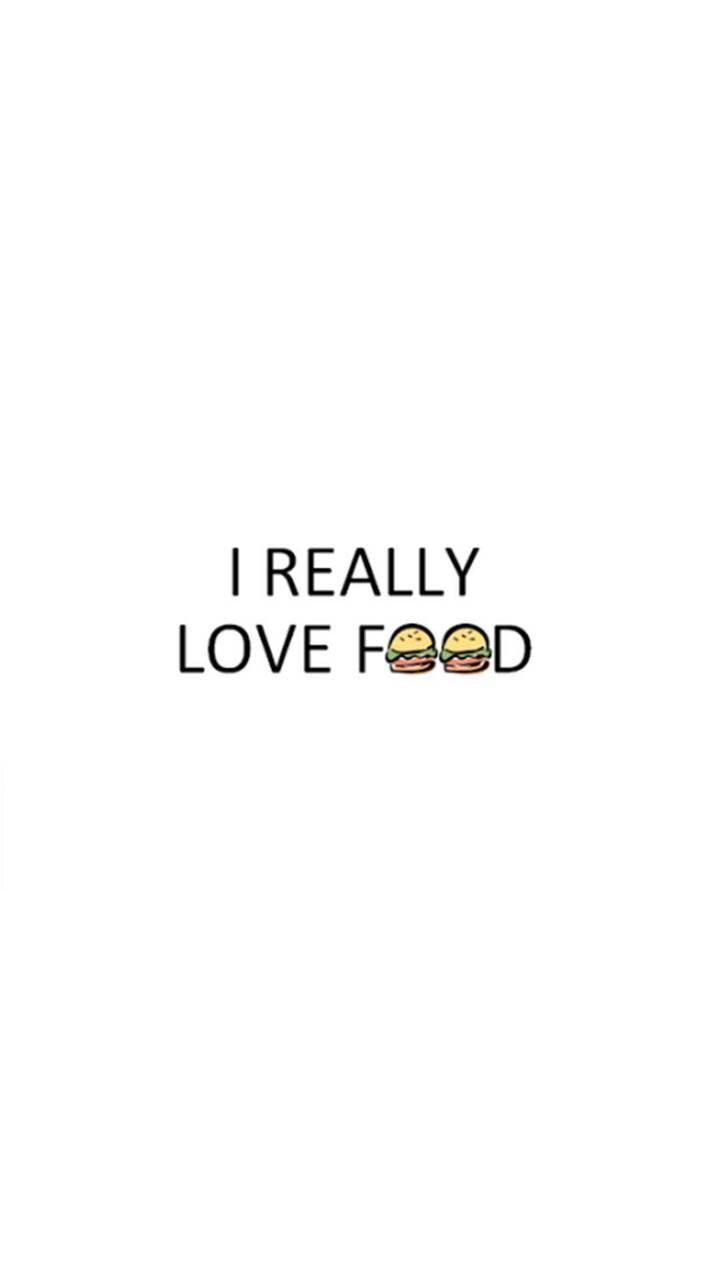 عکس زمینه من عاشق غذا هستم پس زمینه