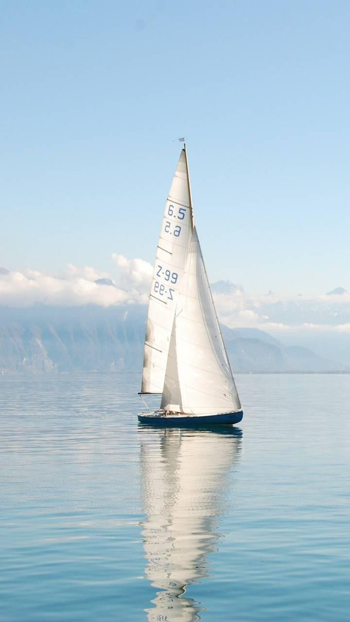 عکس زمینه قایق بادبانی پس زمینه