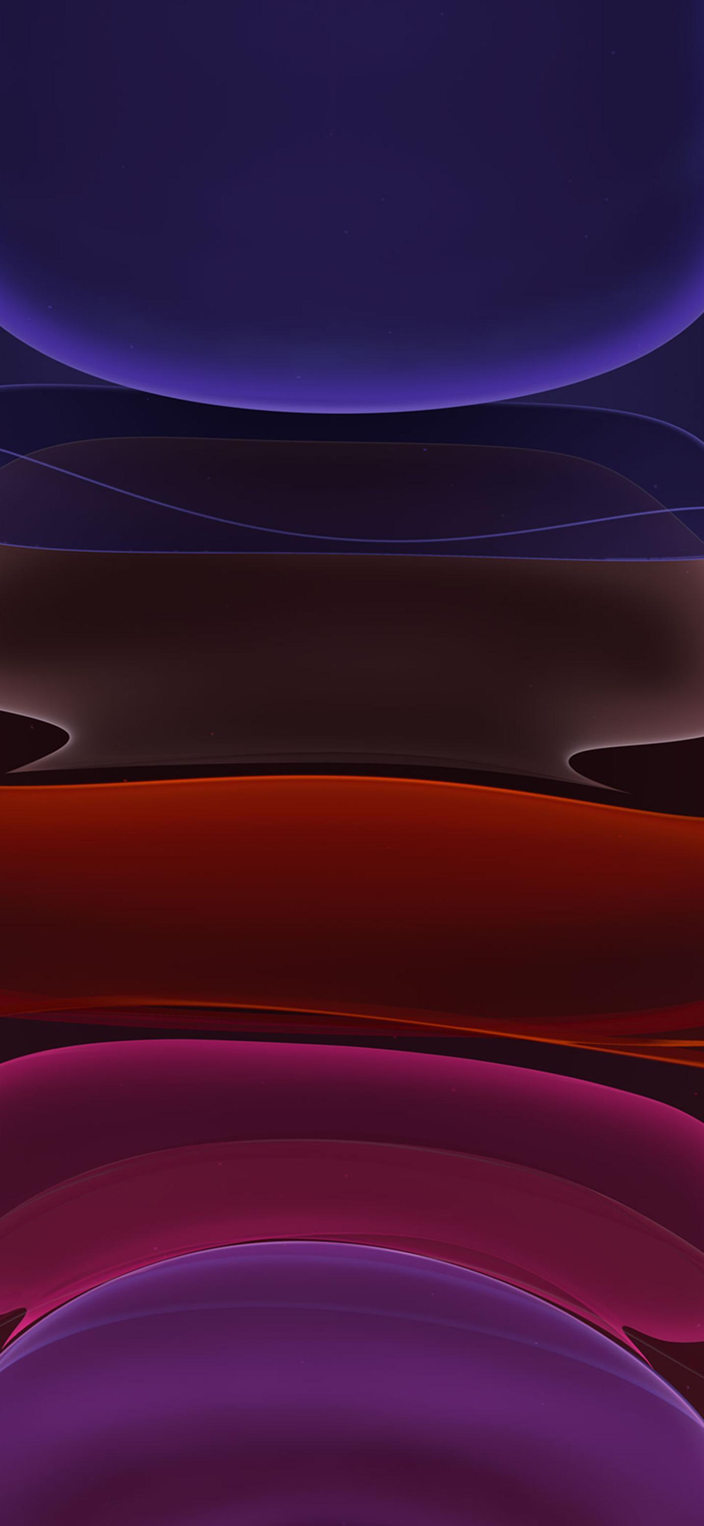 عکس زمینه آیفون 11 اصلی تیره سرخ آبی پس زمینه