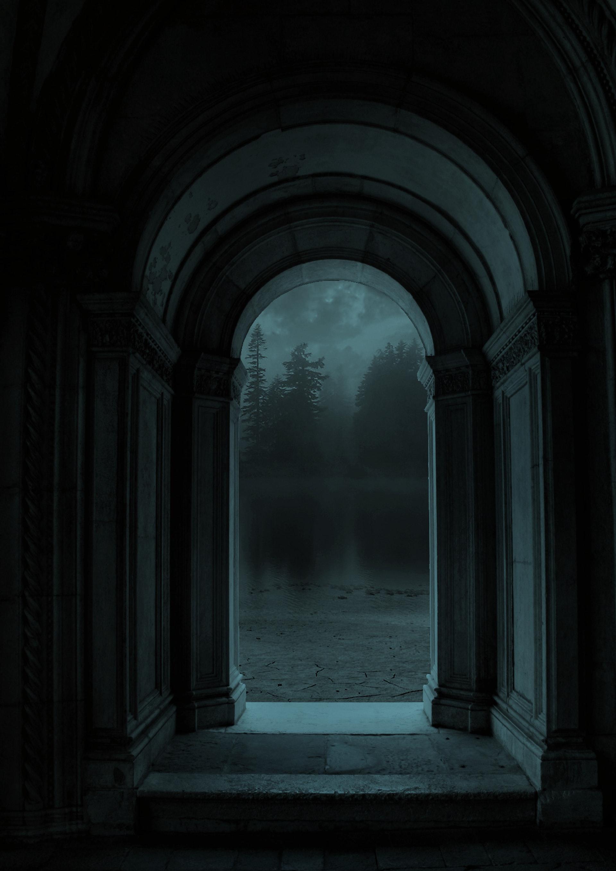 عکس زمینه طاق مسیر تاریک پس زمینه