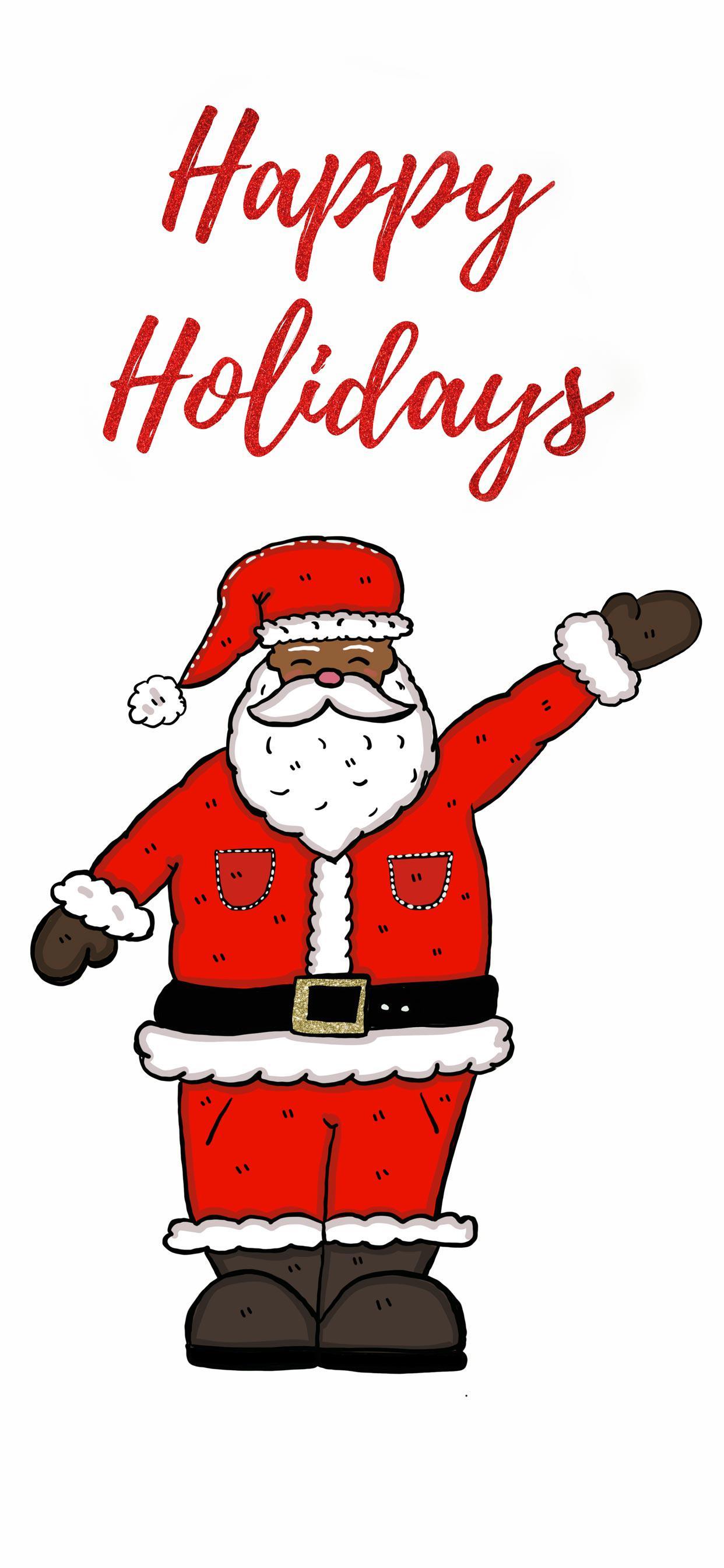عکس زمینه تعطیلات کریسمسی بابانوئل پس زمینه
