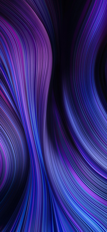عکس زمینه اصلی شیائومی ردمی نوت 9 بنفش آبی تیره زیبا پس زمینه
