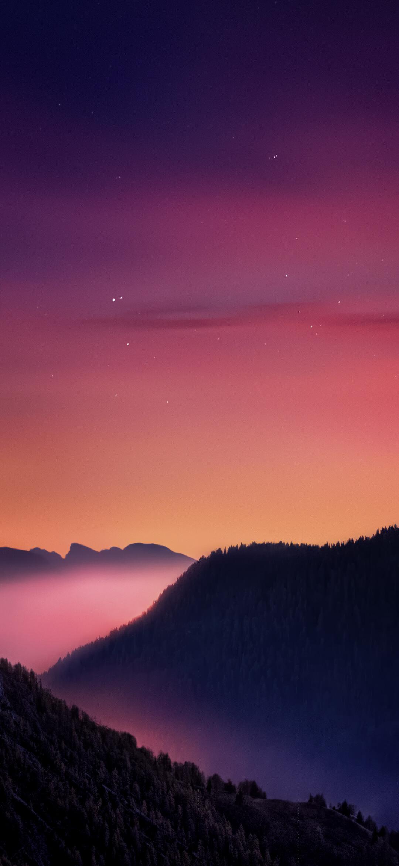 عکس زمینه اصلی شیائومی ردمی نوت 9 طلوع صبح زیبا پس زمینه