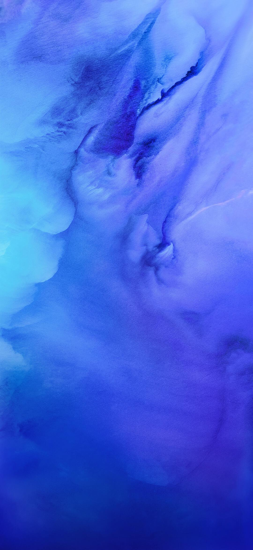 عکس زمینه اصلی شیائومی ردمی نوت 9 آبی زیبا پس زمینه