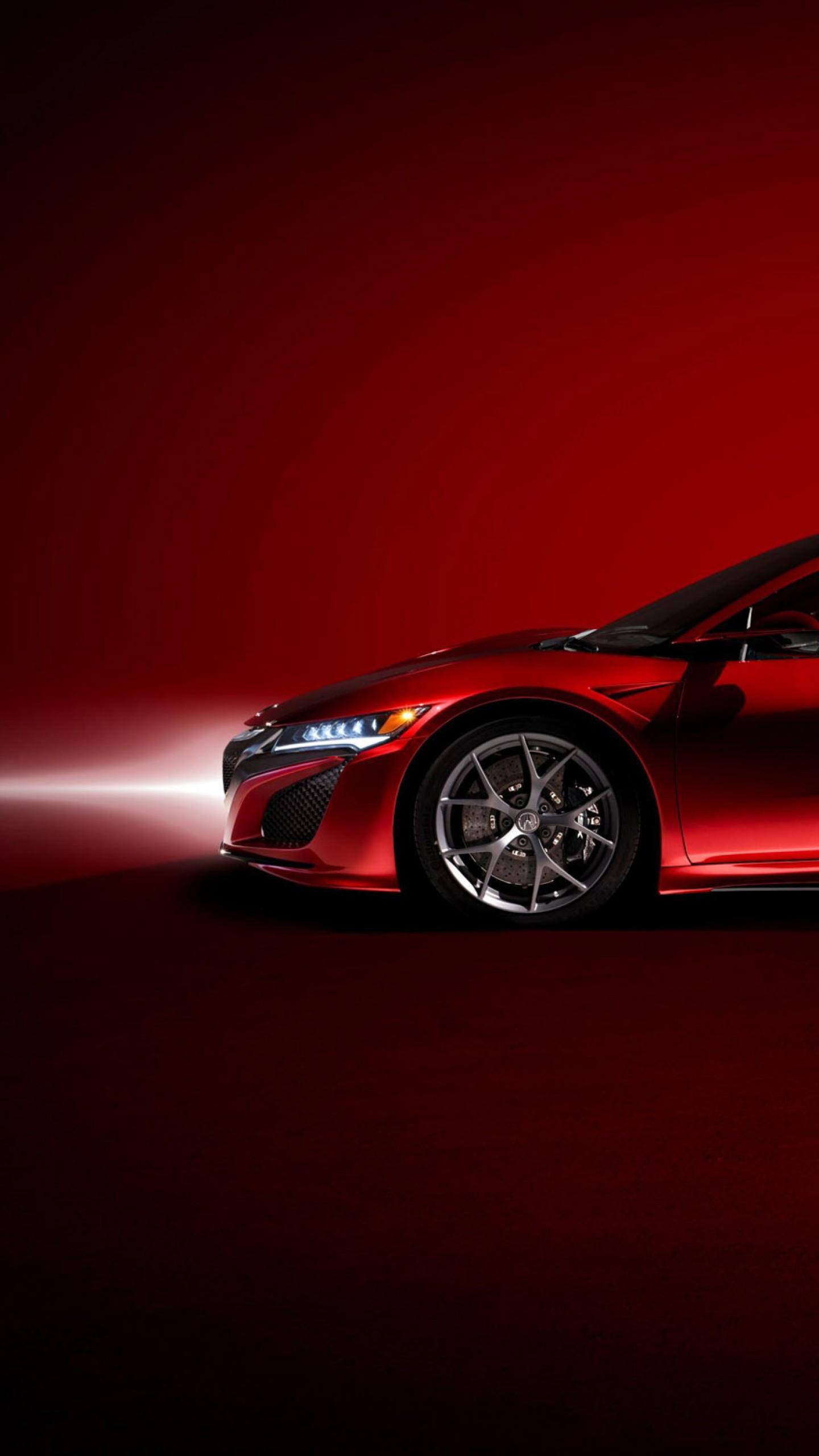 عکس زمینه اتومبیل سوپراسپرت مسابقه ای قرمز پس زمینه