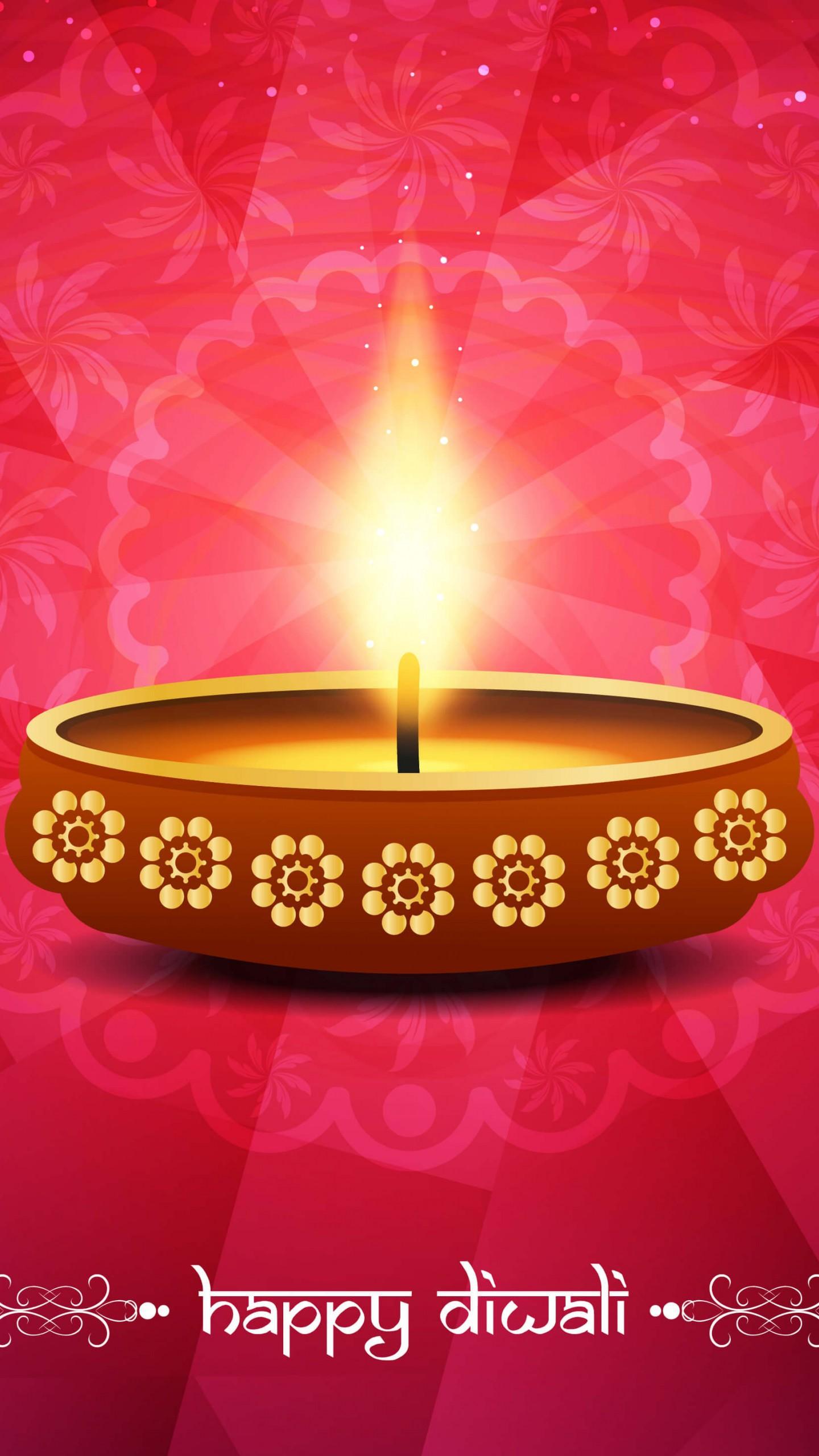 عکس زمینه شمع روشن در جشن های هندی پس زمینه