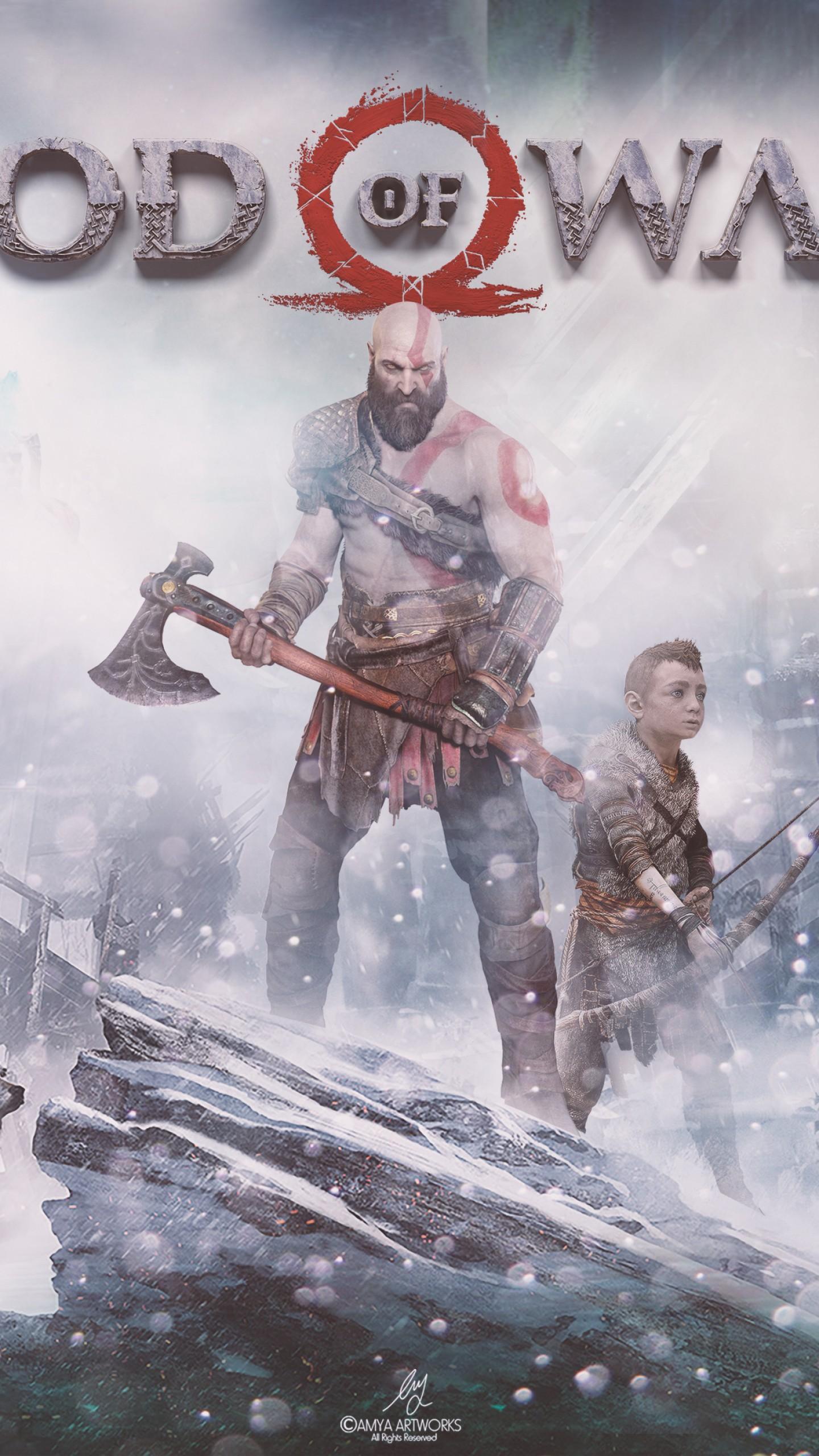 عکس زمینه بازی های God of War پس زمینه