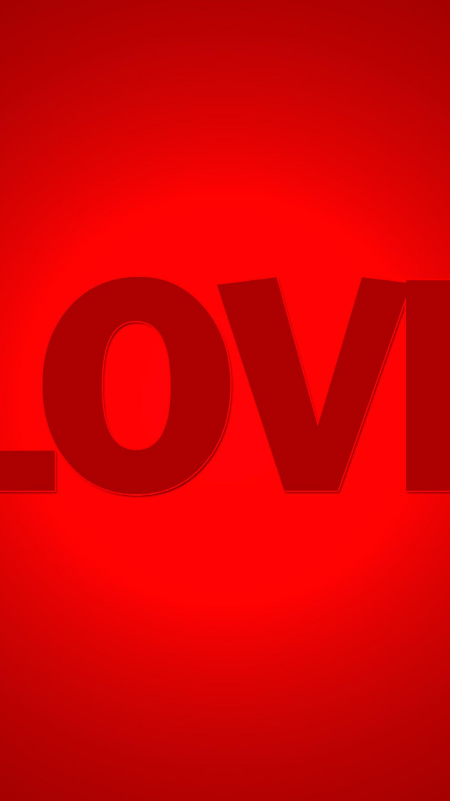عکس زمینه صفحه قرمز عشق و love پس زمینه