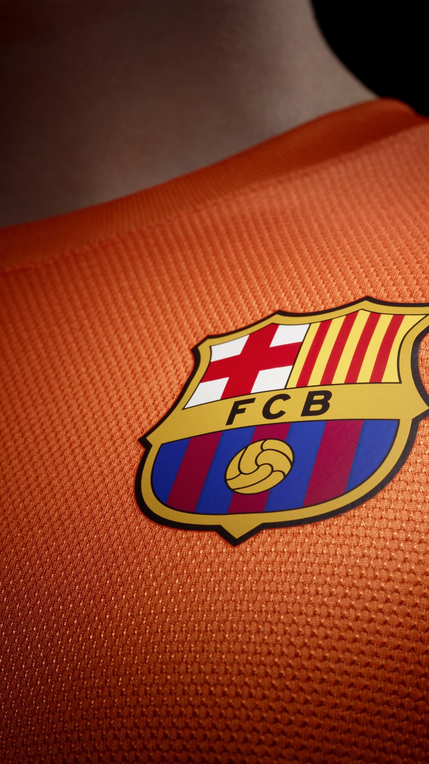 عکس زمینه آرم باشگاه فوتبال FCBبارسلونا پس زمینه