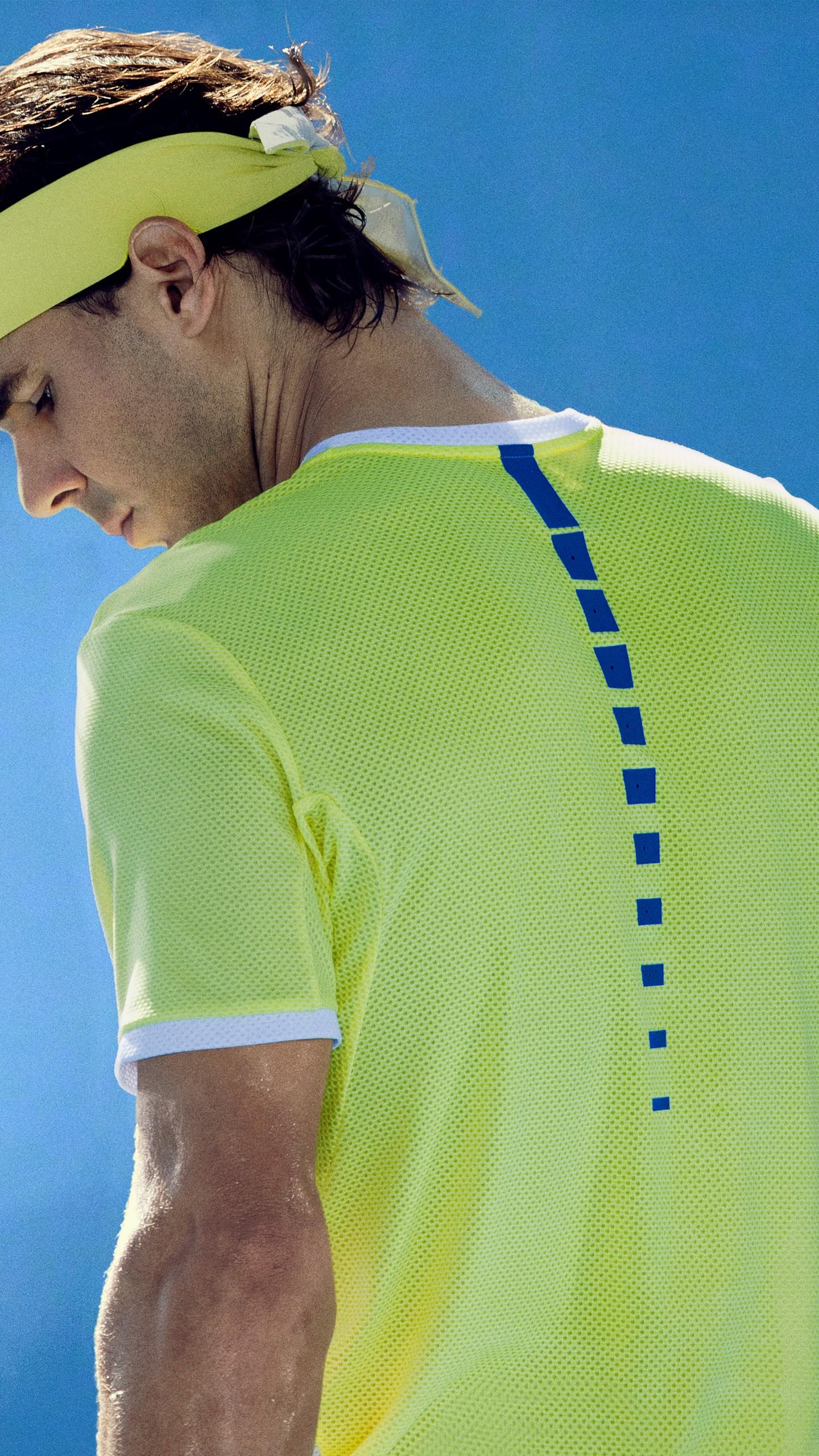 عکس زمینه رافائل نادال بازیکن تنیس اسپانیایی پس زمینه