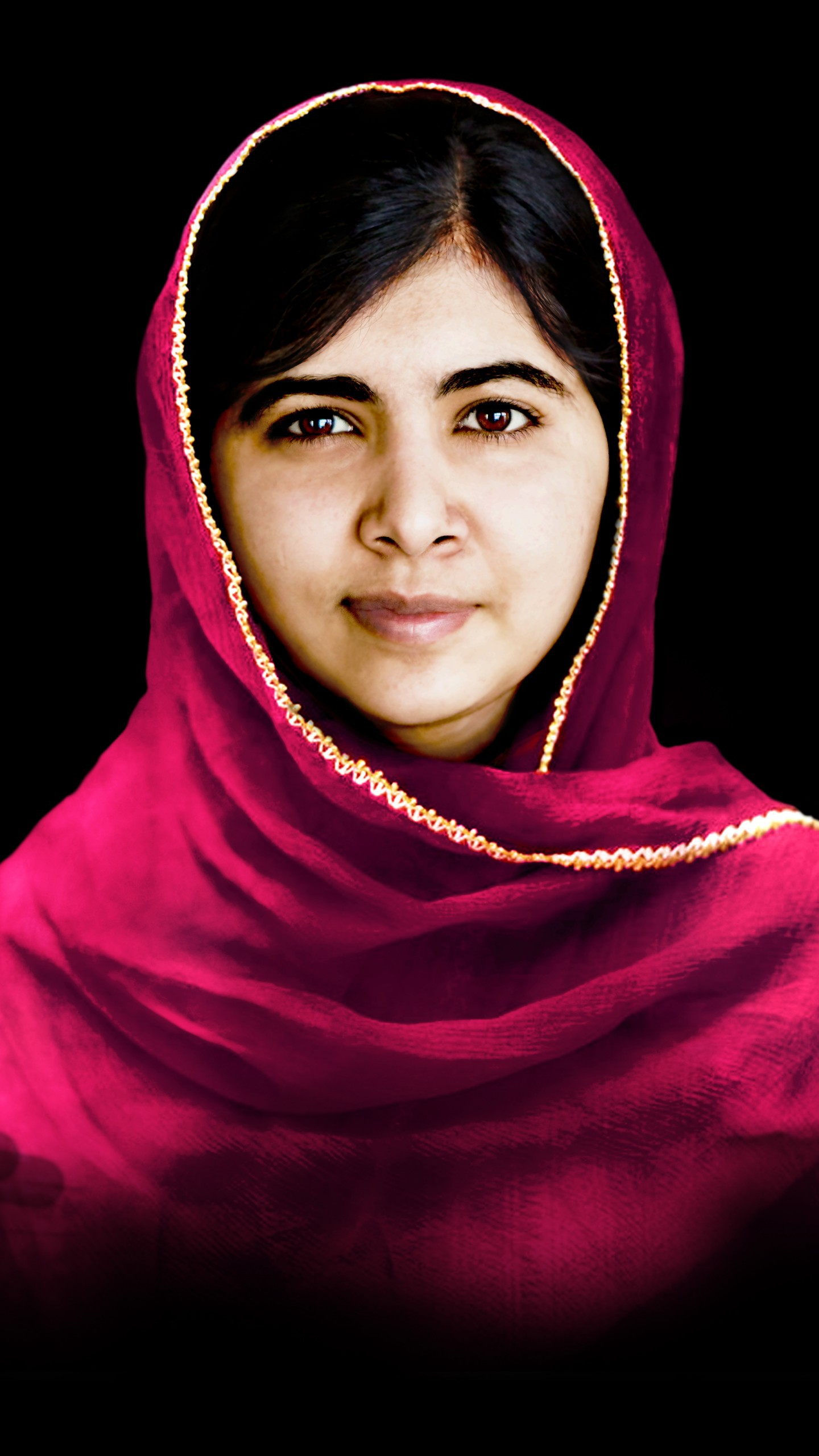عکس زمینه ملاله یوسفزی فعال پاکستانی برنده جایزه نوبل پس زمینه
