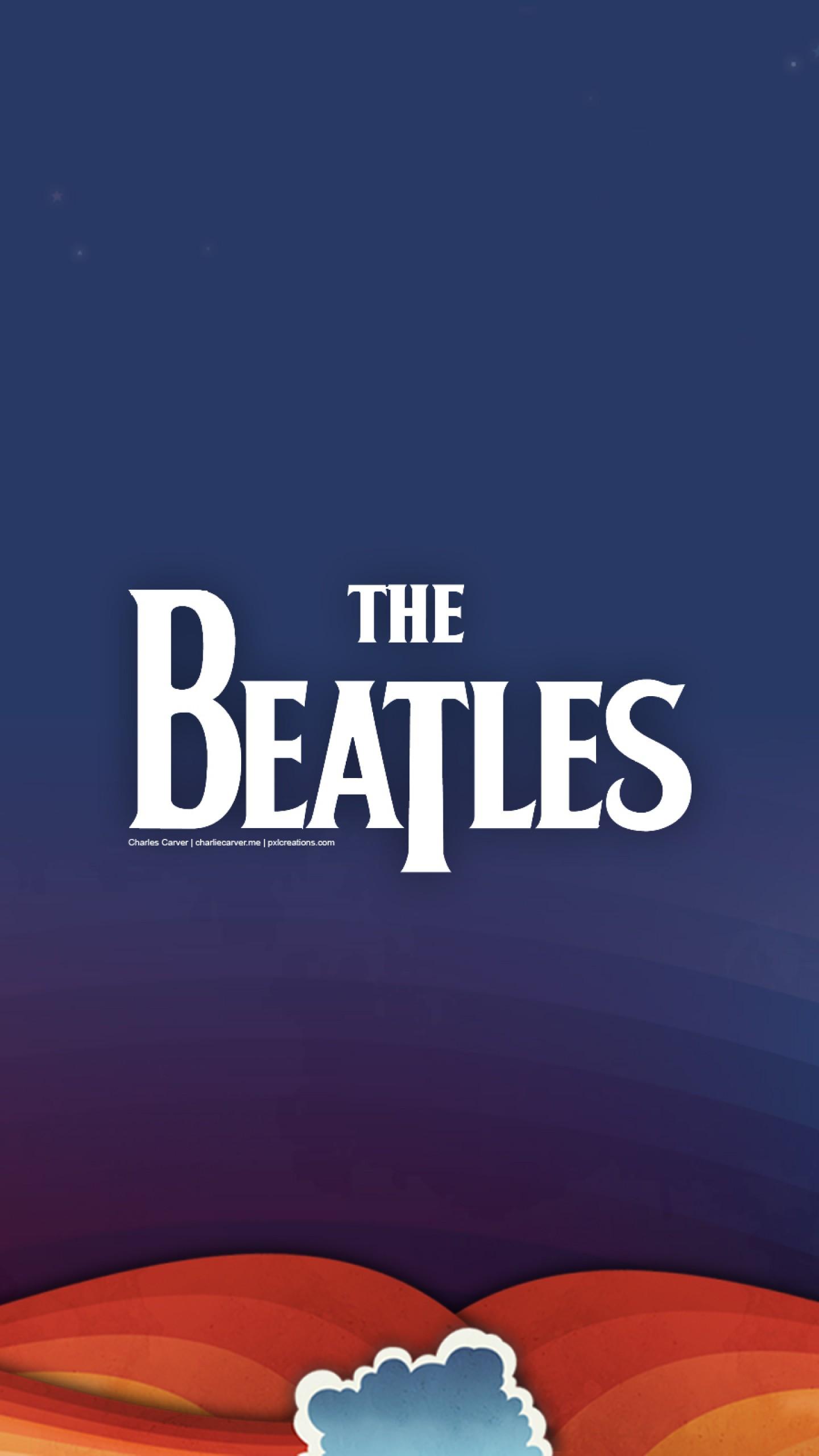عکس زمینه گروه موسیقی راک بیتلز پس زمینه