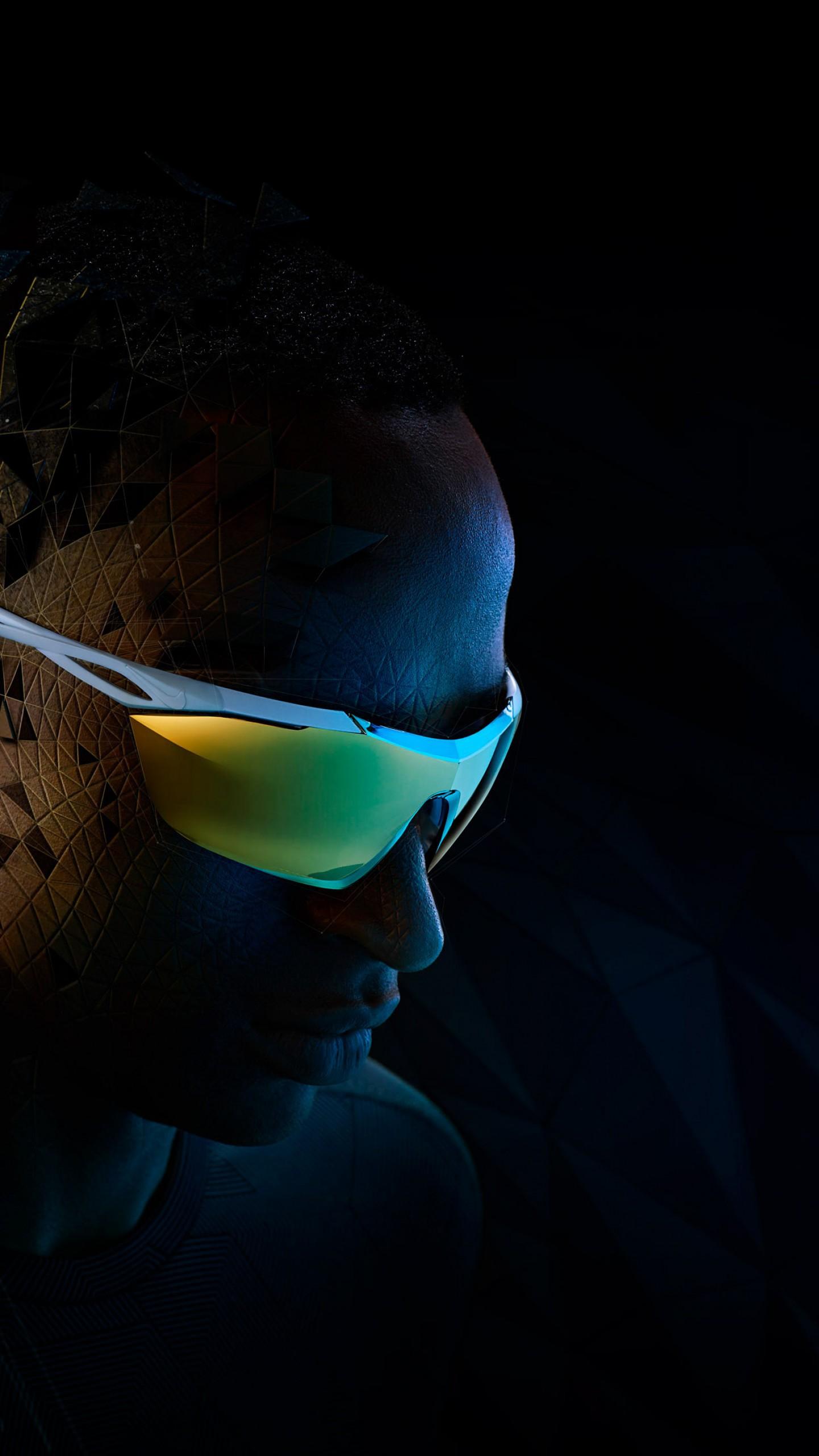 عکس زمینه تکنولوژی عینک جدید نایک ویژن پس زمینه