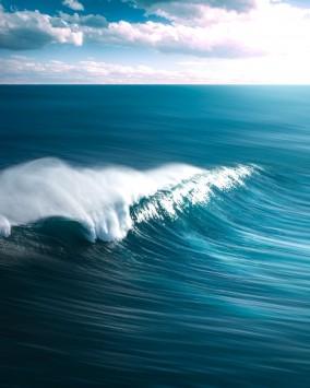عکس زمینه موج اقیانوس