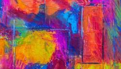 عکس زمینه نقاشی رنگارنگ
