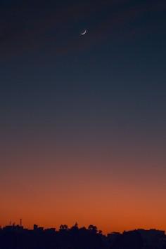 عکس زمینه آسمان درحال غروب