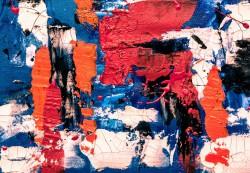 عکس زمینه نقاشی انتزاعی رنگی