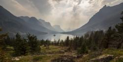 عکس زمینه طبیعت زیبا کوه و دریا و دشت