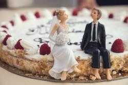 عکس زمینه کیک عروسی