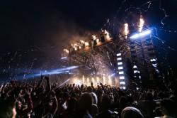 عکس زمینه مردم در کنسرت