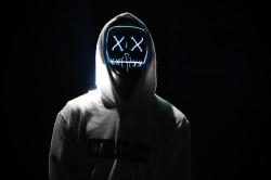 عکس زمینه ماسک بامزه دیجیتالی
