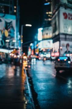 عکس زمینه شهر در شب