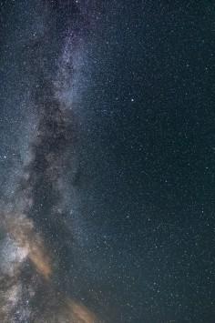 عکس زمینه کهکشان و آسمان پرستاره