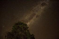 عکس زمینه آسمان زیبای شب