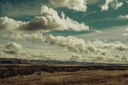 عکس زمینه آسمان ابری زیبا