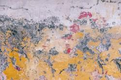 عکس زمینه بتن زرد و سفید هنری