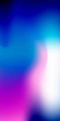 عکس زمینه آیفون X بنفش و آبی