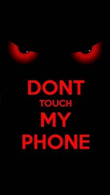 عکس زمینه به گوشی من دست نزن