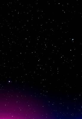عکس زمینه آسمان شپ پر ستاره