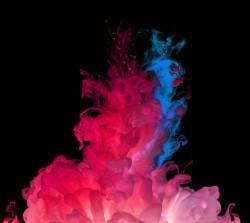 عکس زمینه LG G3 سرخ و آبی