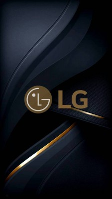 عکس زمینه LG گلد
