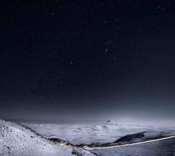 عکس زمینه آیفون 6 HD دشت برفی